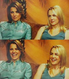 Lucy Lawless and Renee O' Connor