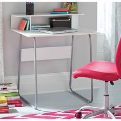 Walmart Mainstays Computer Desk in white. 31x22 inches. $29.