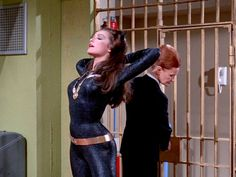 Julie Newmar as Catwoman on Batman TV series Batman Show, Real Batman, Batman Tv Series, Im Batman, Batman Comics, Batman Robin, Batman Art, Catwoman Cosplay, Marvel Cosplay