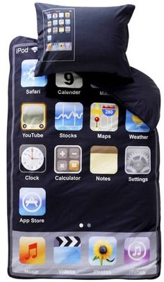 Who wouldn't want an iphone bed. Where to order it?