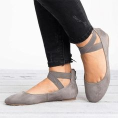 Women's Slip On Flat Ankle Strap Pumps Ballet Dolly Casual Ballerina Dance Shoes Ballerina Shoes, Ballet Flats, Studded Heels, Pumps, Ankle Straps, Vintage Shoes, Shoes Sandals, Flat Shoes, Shoes Sneakers