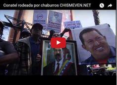 MIEDO: Chaburros rodean Conatel armados y alborotados  http://www.facebook.com/pages/p/584631925064466