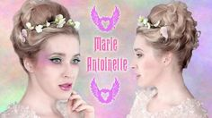 Wedding updo hairstyle: Marie Antoinette hair tutorial ❤