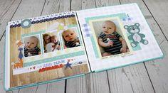 Hello Baby Boy Creative Memories Scrapbooking Collection #creativememories #scrapbooking #hellobaby #Babyboy www.creativememories.com