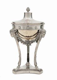 Precise Ottone Anticato Candelabri Pranzo Campane 4 Light Swan Figurale Set Di 2 Silverplate Candlesticks & Candelabra