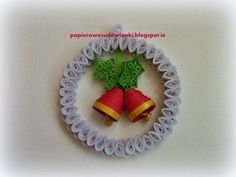 To co robię i co lubię: Ozdoby choinkowe-quilling Christmas decorations