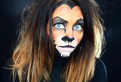 Scar Disney's Lion King makeup by Erica Gamby