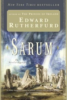 Sarum one of the best books I have ever read...starts with primitive people living in caves and ends up in modern times. This takes place in England and centers around 5-6 families moving through history...a cathedral is built and the details, history and story lines keep you enthralled. Fabulous! I love this author.