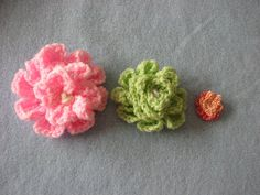 Photo Tutorial; How To Make  My Favorite Crochet Flower