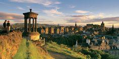 Edinburgh is een bezoek meer dan waard...