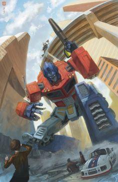 Optimus Prime by *Doomsplosion