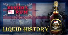 Pusser's Rum - Liquid History Pussers Rum, Sauce Bottle, Soy Sauce, History, Historia, History Books