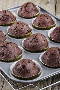 Vegan Triple Chocolate Cupcakes | Vegan