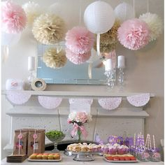 Tissue paper pom poms tutorial tissue paper pom pom tutorial cheap baby shower buy quality kids party supplies directly from china kids party suppliers wedding decoration tissue paper pom poms balls birthday kids junglespirit Gallery