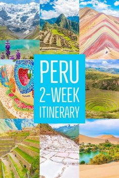 Going to Peru? Here's a itinerary that will make sure you see and do all the best things Peru has to offer. Use this guide and our tips below -- take the stress out of planning! Ecuador, Desert Oasis, Cusco, Lima Peru, Peru Vacation, Peru Trip, Travel Photographie, Peru Travel, Vacation Places