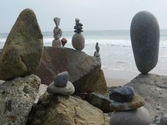Rock Cairns - Whimsical Humor