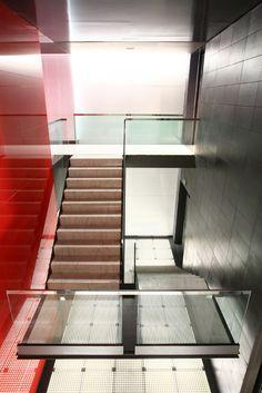 Sede corporativa Fundadores 13. allende arquitectos. Madrid 2005