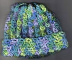 Stretchy Hat free crochet pattern