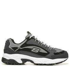 info for 396d1 5e85a Skechers Men s Stamina Cutback Memory Foam Sneakers (Charcoal Black) - 7.0  M Foams