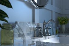 bathroom interior - camera fokus