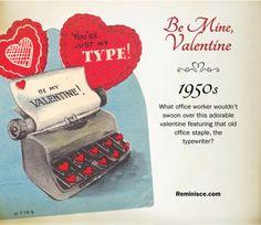 reminisce.com/Vintage-valentines | Vintage valentines through the decades: 1950s