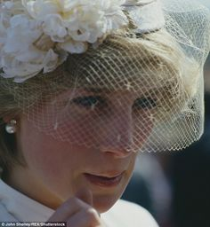 Troubled: A tearful Princess Diana is pictured in during a royal tour of Australia.poor Princess she was heartbroken how they threath her. Princess Diana Funeral, Princess Diana Family, Princess Alexandra, Real Princess, Princess Kate, Princess Of Wales, Lady Diana Spencer, Princesa Diana, Duke And Duchess