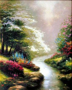 Thomas Kinkade one of my favorite artists!