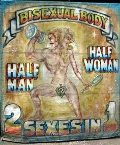 A Freak Show   Canvas Poster