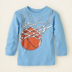 baby boy - graphic tees - basketball graphic tee   Children's Clothing   Kids Clothes   The Children's Place
