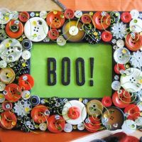 Halloween Home Decor Frame