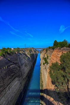 Corinth Canal - From Corinth To Crete, Greece