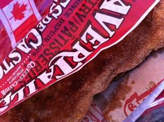Every Canada Day celebration should include BeaverTails pastries!  via momwhoruns