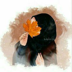 Muslim Girl Hijab, Hijab Outfit, Hijabi Girl, Cover Wattpad, Hijab Drawing, Islamic Cartoon, Hijab Cartoon, Islamic Girl, Girly Pictures