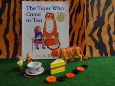 Activities for Book, The Tiger Who Came to Tea by Judith Kerr (from Stimulating Learning with Rachel) Language Activities, Book Activities, Activity Ideas, Nursery Stories, Kind Photo, Book Area, Story Sack, Book Baskets, Holiday Club