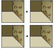 Boyutlu patchworke bir örnek daha. Bu modelde de renk uyumu çok hoş olmuş. Kırkyama da kuralların başında renk ve kumaş uyumu yer alıyo...