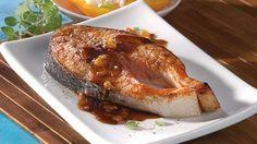 Saumon sur planche de cèdre à l'orientale | Recettes IGA | Poisson, Barbecue, Recette facile