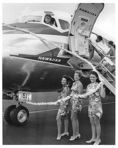 Earlier years at Hawaiian Airlines