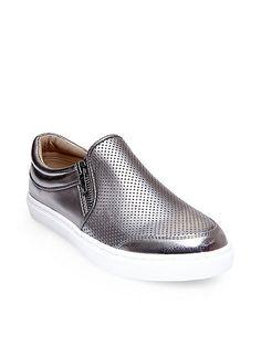 c01097934 Clarks Hidi Hope - Silver Metallic - Womens Sports Shoes