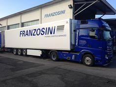 Franzosini Pharma Logistics Services Trucks, Italia, Track, Truck, Cars