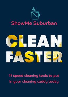 When you need to clean your house fast, using the right cleaning supplies achieves better results in less time. Check out my 11 favorite speed cleaning tools, plus tips and tricks to get the most out of each! Cleaning Caddy, Speed Cleaning, Cleaning Checklist, Cleaning Hacks, Cleaning Supplies, Home Management Binder, Management Tips, Refrigerator Organization, Kitchen Organization