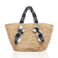 online shopping for Loeffler Randall Women's Hazel Straw Tote from top store. See new offer for Loeffler Randall Women's Hazel Straw Tote Gingham Fabric, Straw Tote, Loeffler Randall, Kid Shoes, Tech Accessories, Pet Supplies, Product Launch, Tote Bag, French Fashion