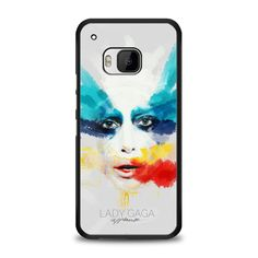 Lady Gaga Applause Design HTC One M9 Case | yukitacase.com