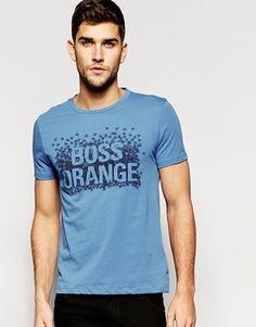 BOSS Orange T-Shirt with Boss Orange Print
