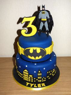 Batman cake for Marcy