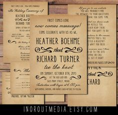 casual country wedding invitation wording - 28 images - 145 best ...