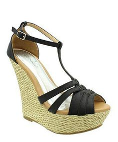 Look at this #zulilyfind! Black Pisa T-Strap Sandal #zulilyfinds