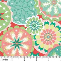 Have a Sheri Berry Holiday Round Snowflakes