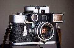 Leica met bril