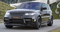 Mansory Tweaks The Big Range Rover Sport #Geneva_Motor_Show #Land_Rover