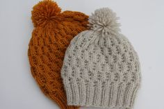 Instant Download Honeycomb Cable Hat PDF Pattern by MadebyTL